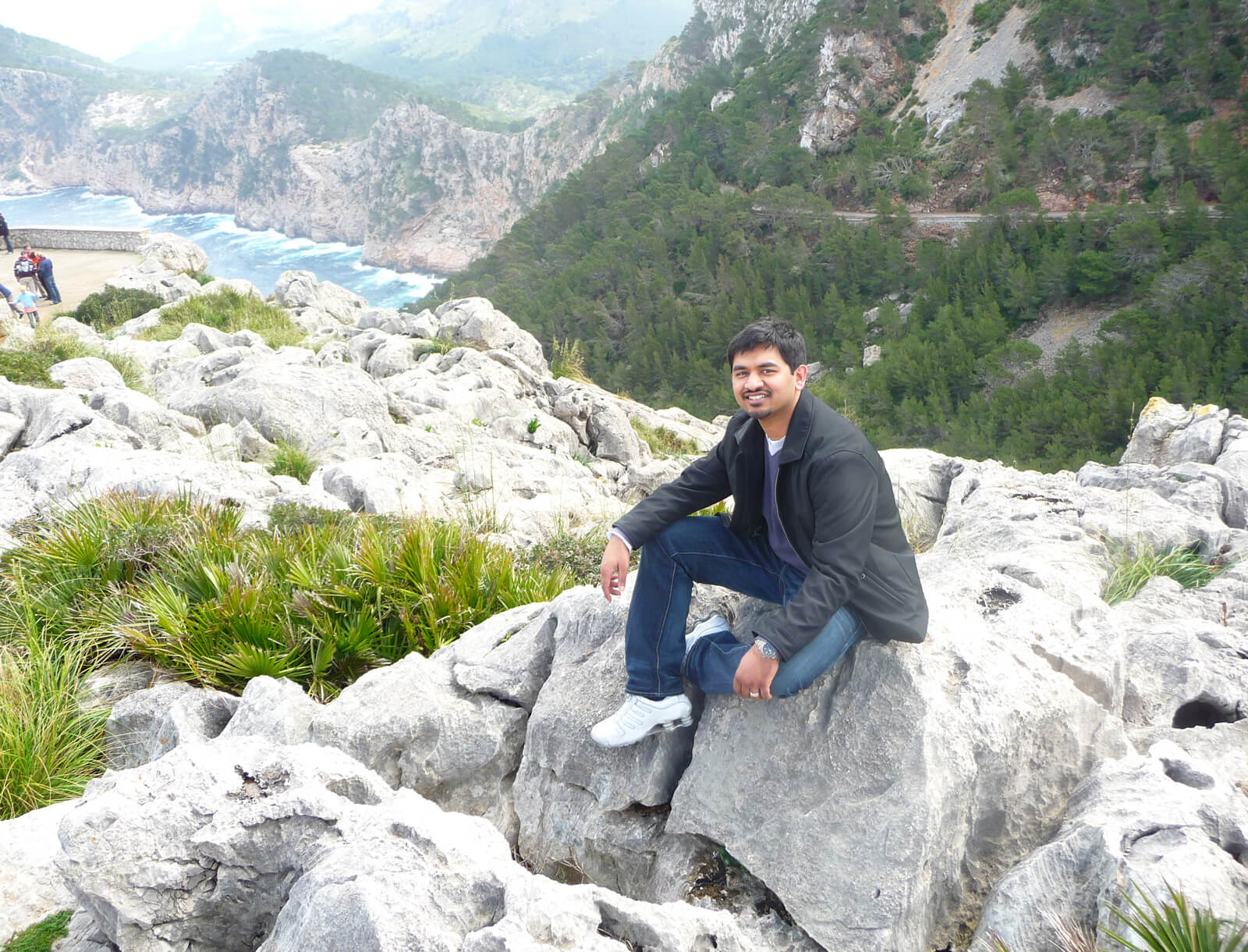 Mubasher Anwar auf anspruchsvollem Terrain