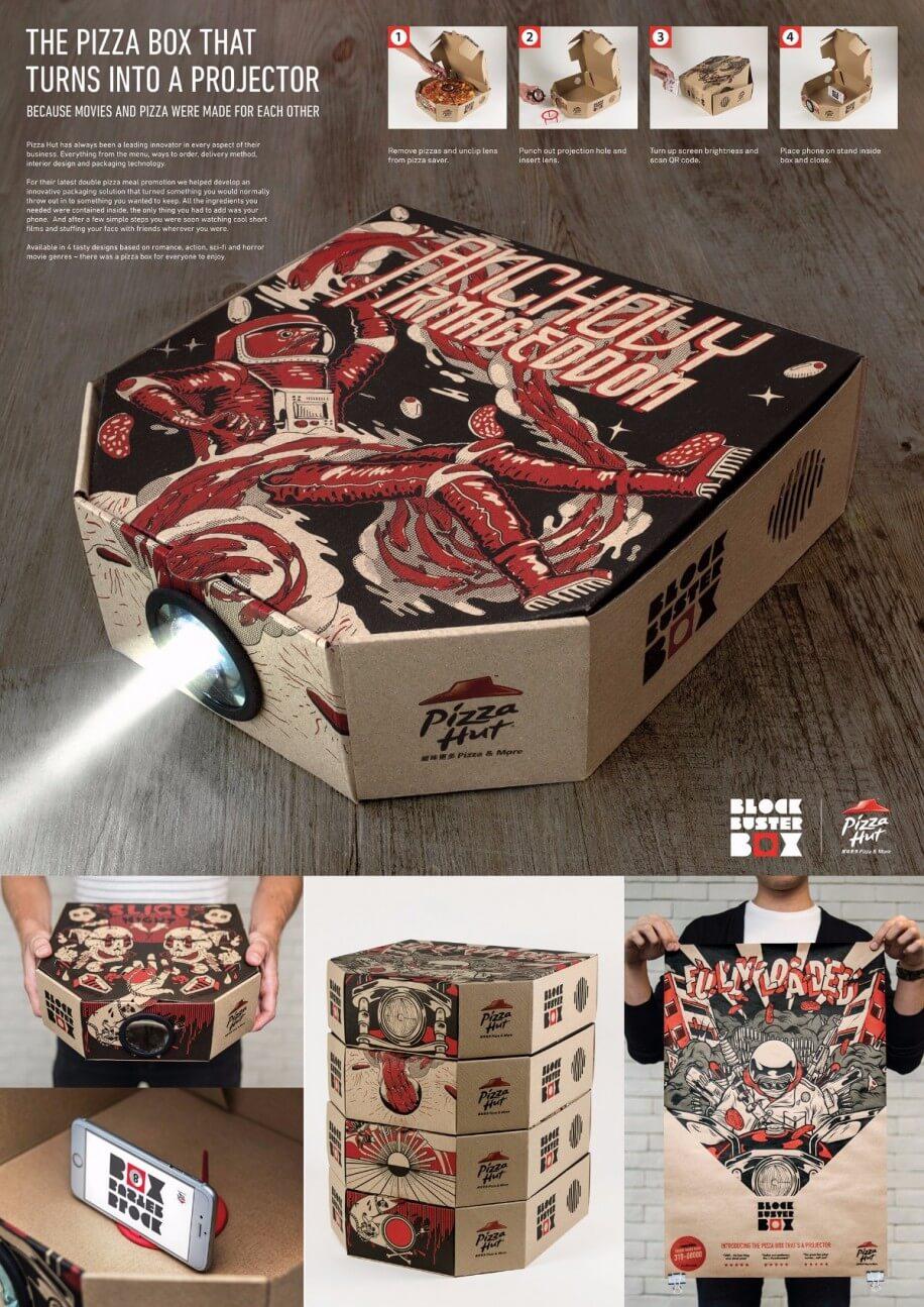 Pizza Hut Marketing Beamer
